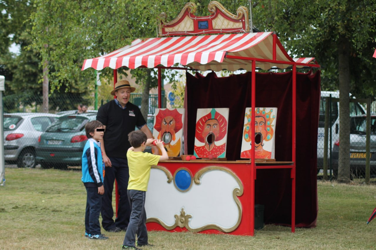 Family Day 78 jeu Stand forain